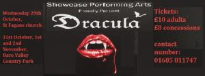 halloween production of Dracula