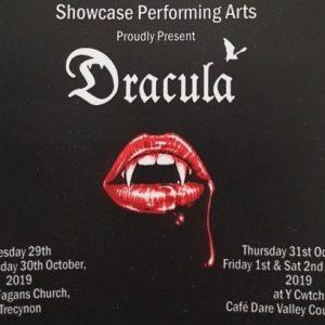 Halloween performance of Dracula