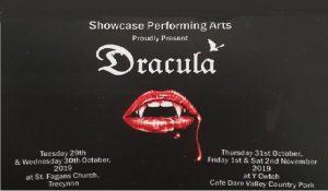 showcase's halloween production of Dracula